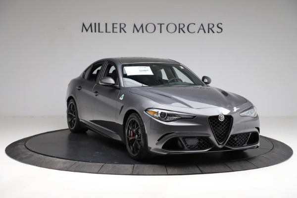 New 2021 Alfa Romeo Giulia Quadrifoglio for sale $83,200 at Bentley Greenwich in Greenwich CT 06830 10