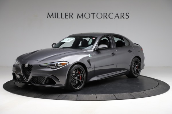 New 2021 Alfa Romeo Giulia Quadrifoglio for sale $83,200 at Bentley Greenwich in Greenwich CT 06830 2