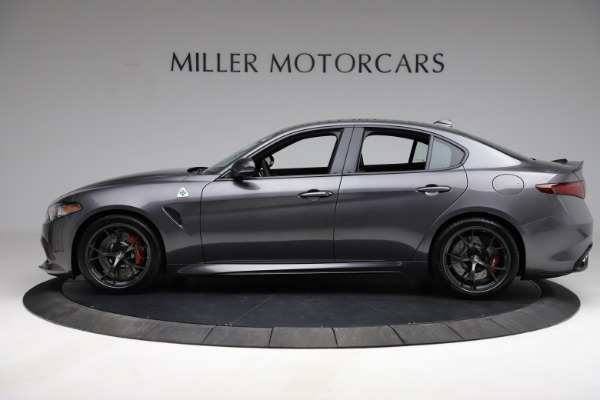 New 2021 Alfa Romeo Giulia Quadrifoglio for sale $83,200 at Bentley Greenwich in Greenwich CT 06830 3