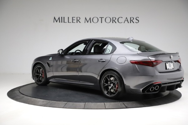 New 2021 Alfa Romeo Giulia Quadrifoglio for sale $83,200 at Bentley Greenwich in Greenwich CT 06830 4
