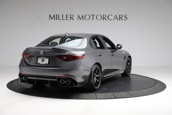 New 2021 Alfa Romeo Giulia Quadrifoglio for sale $83,200 at Bentley Greenwich in Greenwich CT 06830 6