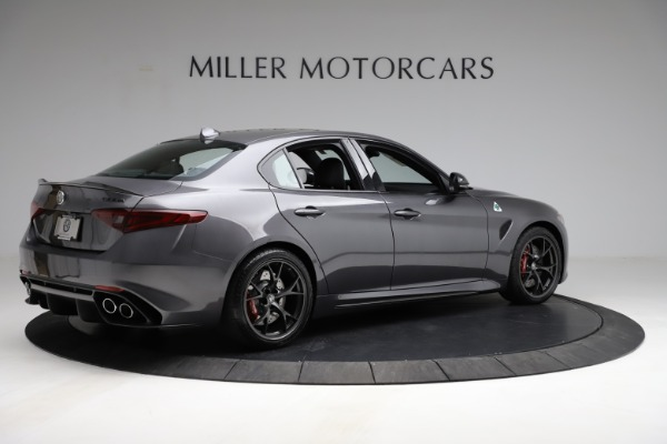 New 2021 Alfa Romeo Giulia Quadrifoglio for sale $83,200 at Bentley Greenwich in Greenwich CT 06830 7