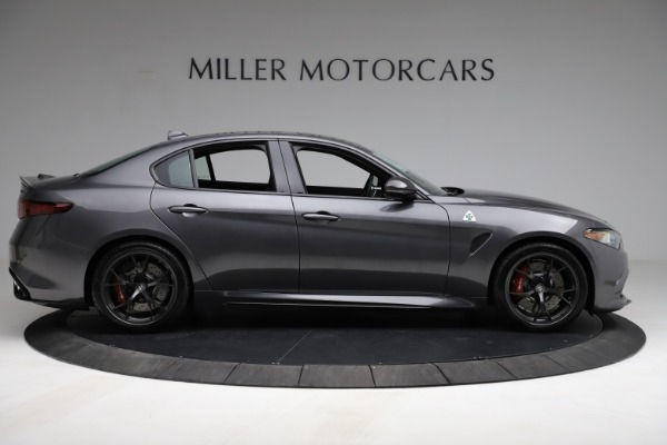 New 2021 Alfa Romeo Giulia Quadrifoglio for sale $83,200 at Bentley Greenwich in Greenwich CT 06830 8