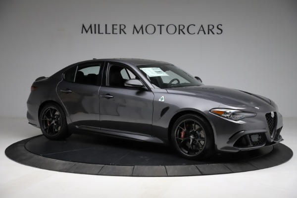 New 2021 Alfa Romeo Giulia Quadrifoglio for sale $83,200 at Bentley Greenwich in Greenwich CT 06830 9