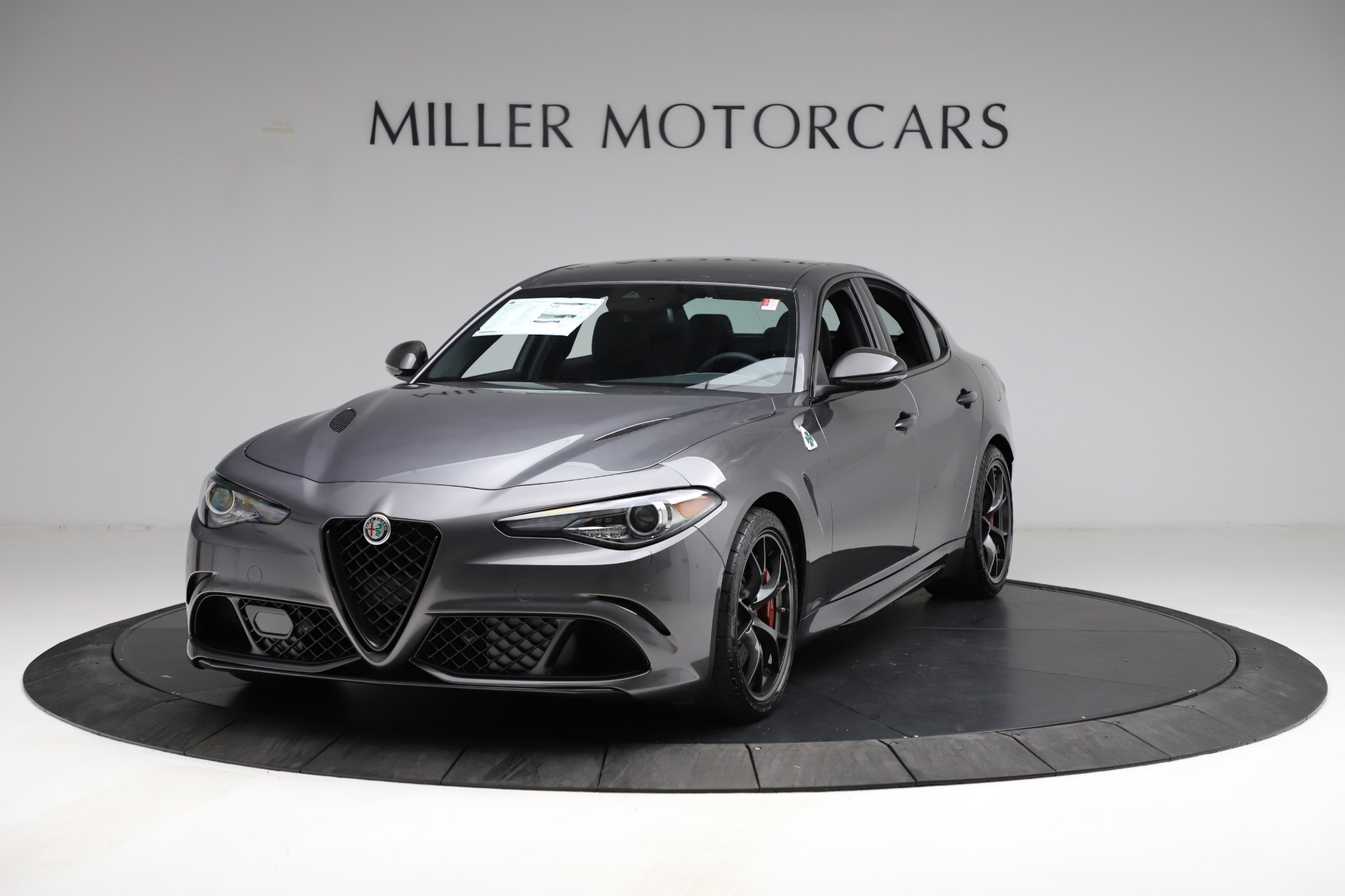 New 2021 Alfa Romeo Giulia Quadrifoglio for sale $83,200 at Bentley Greenwich in Greenwich CT 06830 1