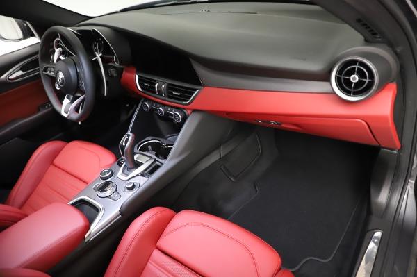 New 2021 Alfa Romeo Giulia Ti Sport for sale $54,050 at Bentley Greenwich in Greenwich CT 06830 21