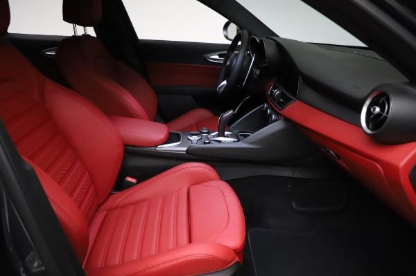 New 2021 Alfa Romeo Giulia Ti Sport for sale $54,050 at Bentley Greenwich in Greenwich CT 06830 22