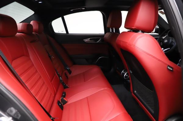 New 2021 Alfa Romeo Giulia Ti Sport for sale $54,050 at Bentley Greenwich in Greenwich CT 06830 24