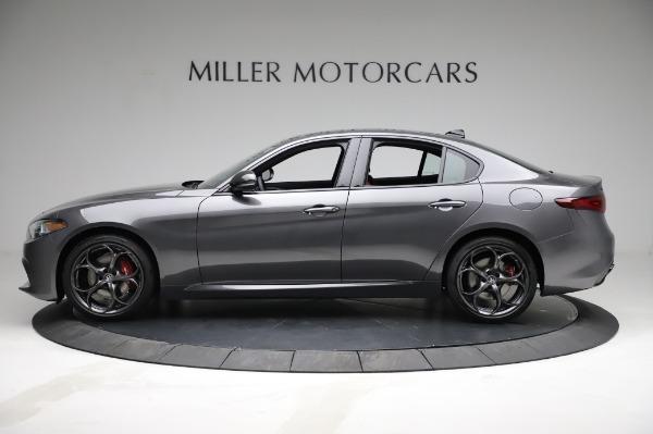 New 2021 Alfa Romeo Giulia Ti Sport for sale $54,050 at Bentley Greenwich in Greenwich CT 06830 3