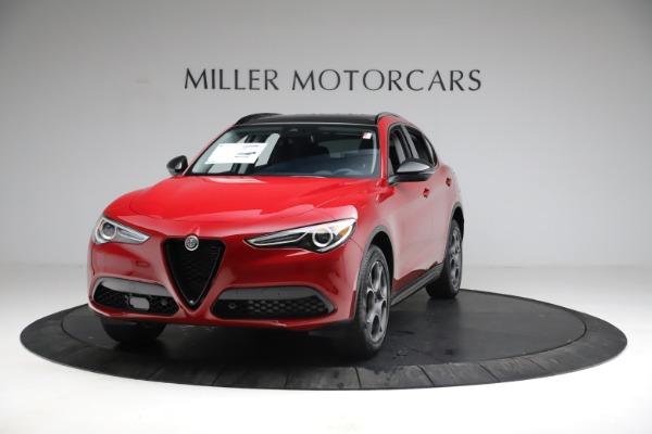 New 2021 Alfa Romeo Stelvio Sprint for sale $50,535 at Bentley Greenwich in Greenwich CT 06830 1