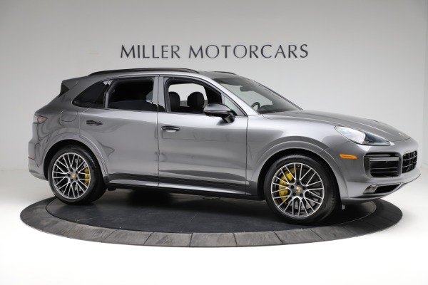 Used 2020 Porsche Cayenne Turbo for sale $145,900 at Bentley Greenwich in Greenwich CT 06830 11