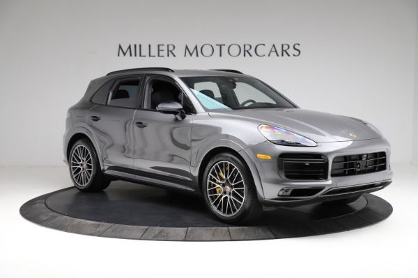 Used 2020 Porsche Cayenne Turbo for sale $145,900 at Bentley Greenwich in Greenwich CT 06830 12