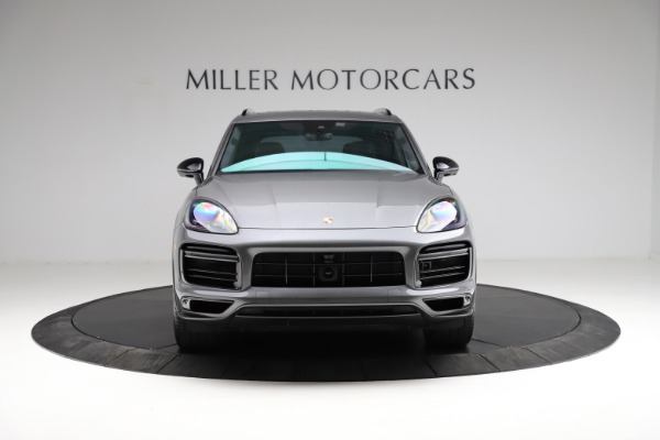 Used 2020 Porsche Cayenne Turbo for sale $145,900 at Bentley Greenwich in Greenwich CT 06830 13
