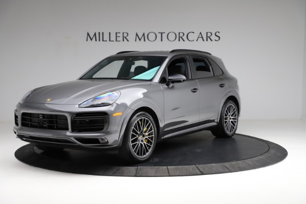 Used 2020 Porsche Cayenne Turbo for sale $145,900 at Bentley Greenwich in Greenwich CT 06830 2