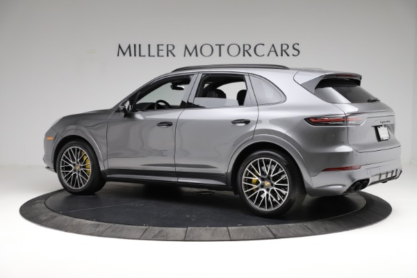 Used 2020 Porsche Cayenne Turbo for sale $145,900 at Bentley Greenwich in Greenwich CT 06830 4