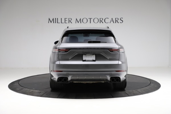 Used 2020 Porsche Cayenne Turbo for sale $145,900 at Bentley Greenwich in Greenwich CT 06830 6