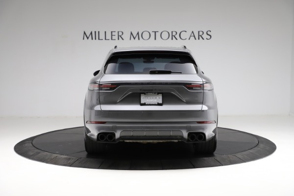 Used 2020 Porsche Cayenne Turbo for sale $145,900 at Bentley Greenwich in Greenwich CT 06830 7