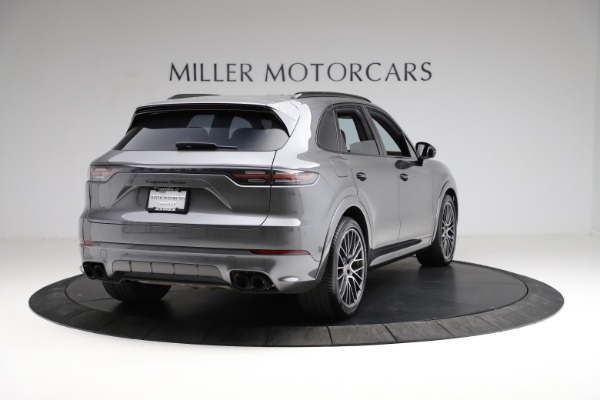 Used 2020 Porsche Cayenne Turbo for sale $145,900 at Bentley Greenwich in Greenwich CT 06830 8