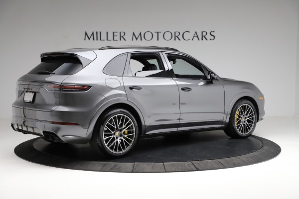 Used 2020 Porsche Cayenne Turbo for sale $145,900 at Bentley Greenwich in Greenwich CT 06830 9