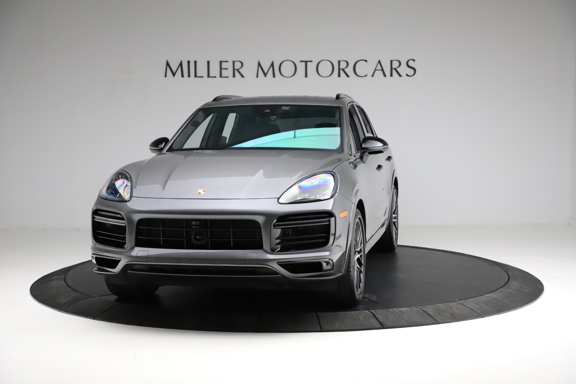 Used 2020 Porsche Cayenne Turbo for sale $145,900 at Bentley Greenwich in Greenwich CT 06830 1
