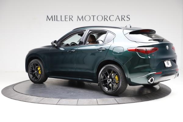 New 2021 Alfa Romeo Stelvio Ti for sale $53,650 at Bentley Greenwich in Greenwich CT 06830 4