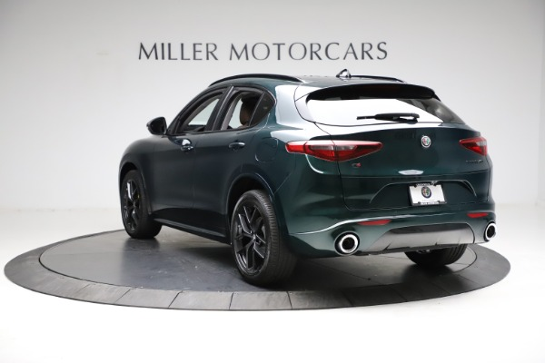 New 2021 Alfa Romeo Stelvio Ti for sale $53,650 at Bentley Greenwich in Greenwich CT 06830 5
