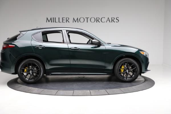 New 2021 Alfa Romeo Stelvio Ti for sale $53,650 at Bentley Greenwich in Greenwich CT 06830 9