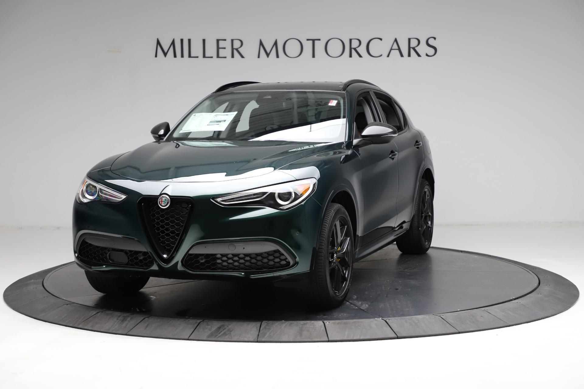 New 2021 Alfa Romeo Stelvio Ti for sale $53,650 at Bentley Greenwich in Greenwich CT 06830 1