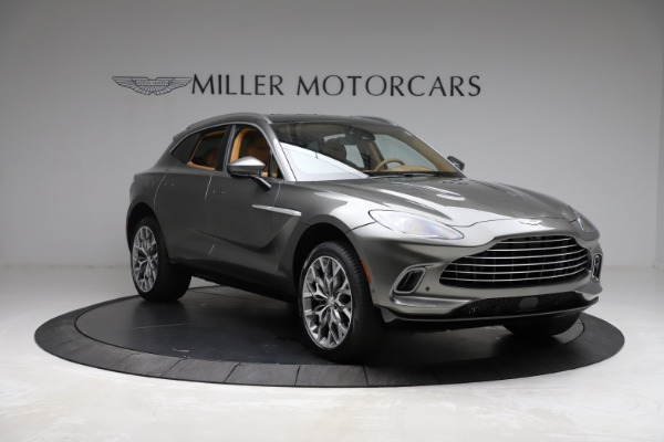 New 2021 Aston Martin DBX for sale $211,486 at Bentley Greenwich in Greenwich CT 06830 10