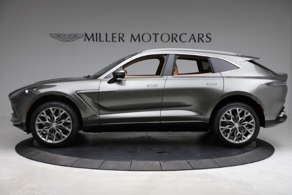 New 2021 Aston Martin DBX for sale $211,486 at Bentley Greenwich in Greenwich CT 06830 2