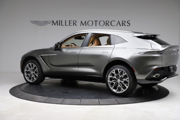 New 2021 Aston Martin DBX for sale $211,486 at Bentley Greenwich in Greenwich CT 06830 3