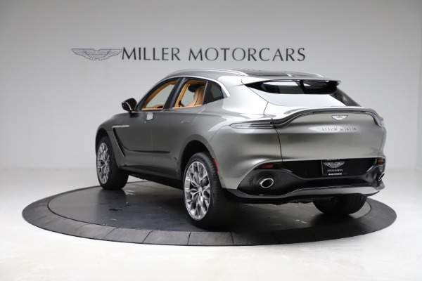 New 2021 Aston Martin DBX for sale $211,486 at Bentley Greenwich in Greenwich CT 06830 4