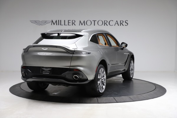 New 2021 Aston Martin DBX for sale $211,486 at Bentley Greenwich in Greenwich CT 06830 6