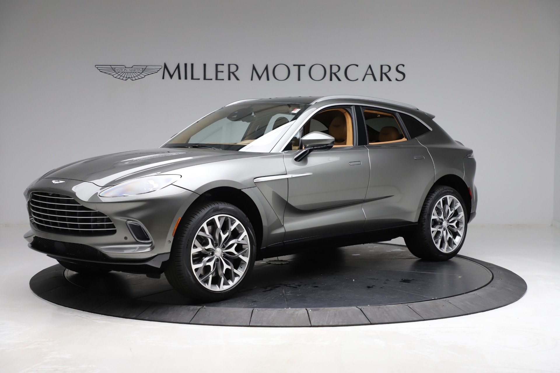 New 2021 Aston Martin DBX for sale $211,486 at Bentley Greenwich in Greenwich CT 06830 1