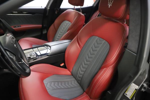 Used 2018 Maserati Ghibli SQ4 GranLusso for sale $55,900 at Bentley Greenwich in Greenwich CT 06830 10