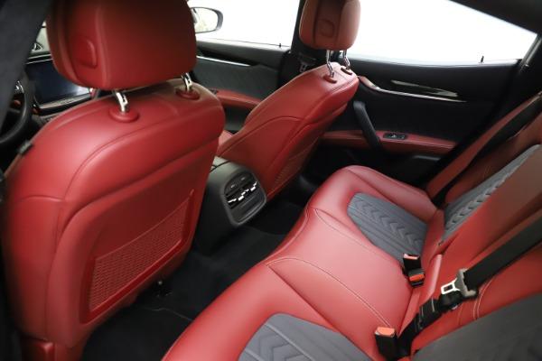 Used 2018 Maserati Ghibli SQ4 GranLusso for sale $55,900 at Bentley Greenwich in Greenwich CT 06830 13