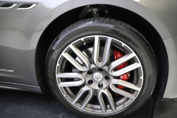 Used 2018 Maserati Ghibli SQ4 GranLusso for sale $55,900 at Bentley Greenwich in Greenwich CT 06830 22