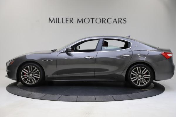 Used 2018 Maserati Ghibli SQ4 GranLusso for sale $55,900 at Bentley Greenwich in Greenwich CT 06830 3