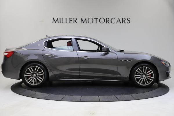 Used 2018 Maserati Ghibli SQ4 GranLusso for sale $55,900 at Bentley Greenwich in Greenwich CT 06830 4