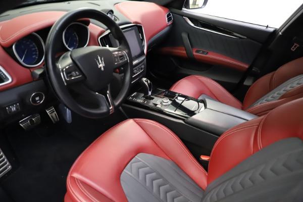 Used 2018 Maserati Ghibli SQ4 GranLusso for sale $55,900 at Bentley Greenwich in Greenwich CT 06830 8