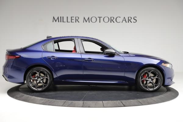 New 2021 Alfa Romeo Giulia Ti Sport for sale $54,050 at Bentley Greenwich in Greenwich CT 06830 10
