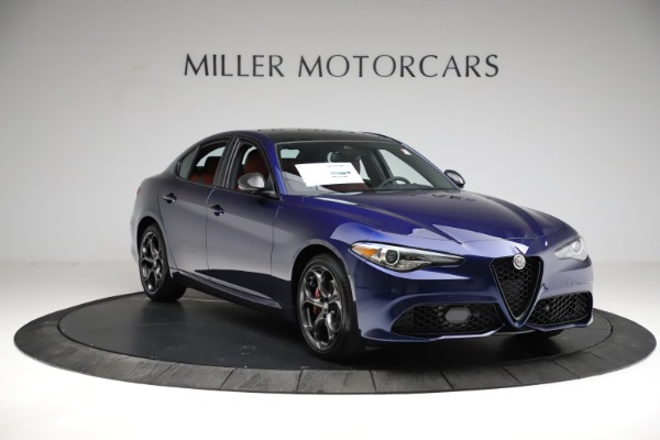 New 2021 Alfa Romeo Giulia Ti Sport for sale $54,050 at Bentley Greenwich in Greenwich CT 06830 13