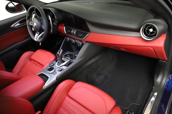 New 2021 Alfa Romeo Giulia Ti Sport for sale $54,050 at Bentley Greenwich in Greenwich CT 06830 19