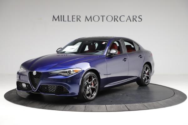 New 2021 Alfa Romeo Giulia Ti Sport for sale $54,050 at Bentley Greenwich in Greenwich CT 06830 2