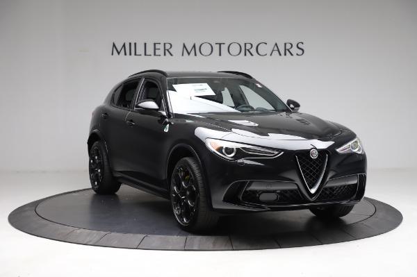 New 2021 Alfa Romeo Stelvio Quadrifoglio for sale $90,450 at Bentley Greenwich in Greenwich CT 06830 11
