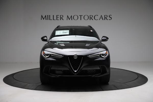 New 2021 Alfa Romeo Stelvio Quadrifoglio for sale $90,450 at Bentley Greenwich in Greenwich CT 06830 12