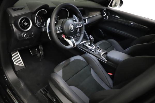 New 2021 Alfa Romeo Stelvio Quadrifoglio for sale $90,450 at Bentley Greenwich in Greenwich CT 06830 13