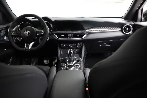 New 2021 Alfa Romeo Stelvio Quadrifoglio for sale $90,450 at Bentley Greenwich in Greenwich CT 06830 16