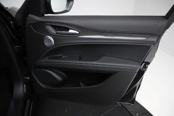 New 2021 Alfa Romeo Stelvio Quadrifoglio for sale $90,450 at Bentley Greenwich in Greenwich CT 06830 24