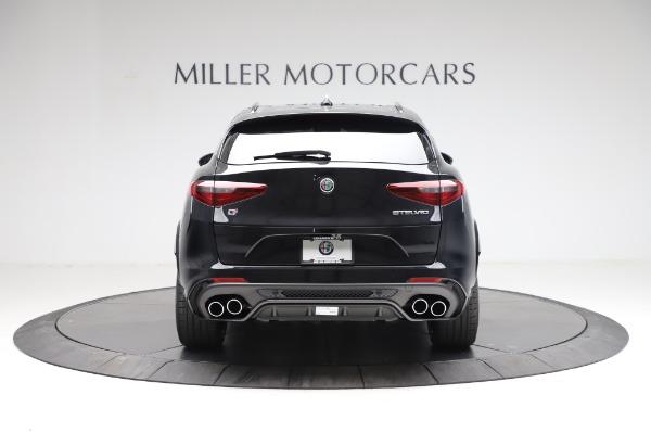New 2021 Alfa Romeo Stelvio Quadrifoglio for sale $90,450 at Bentley Greenwich in Greenwich CT 06830 6